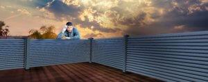 Alu profili za ograje - aluminijaste ograje - Postavi si jo sam!