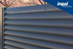 Aluminijasta ograja profil Solza - trgovina Alumix