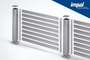 Aluminijasta ograja - Zidarska letev - trgovina Alumix